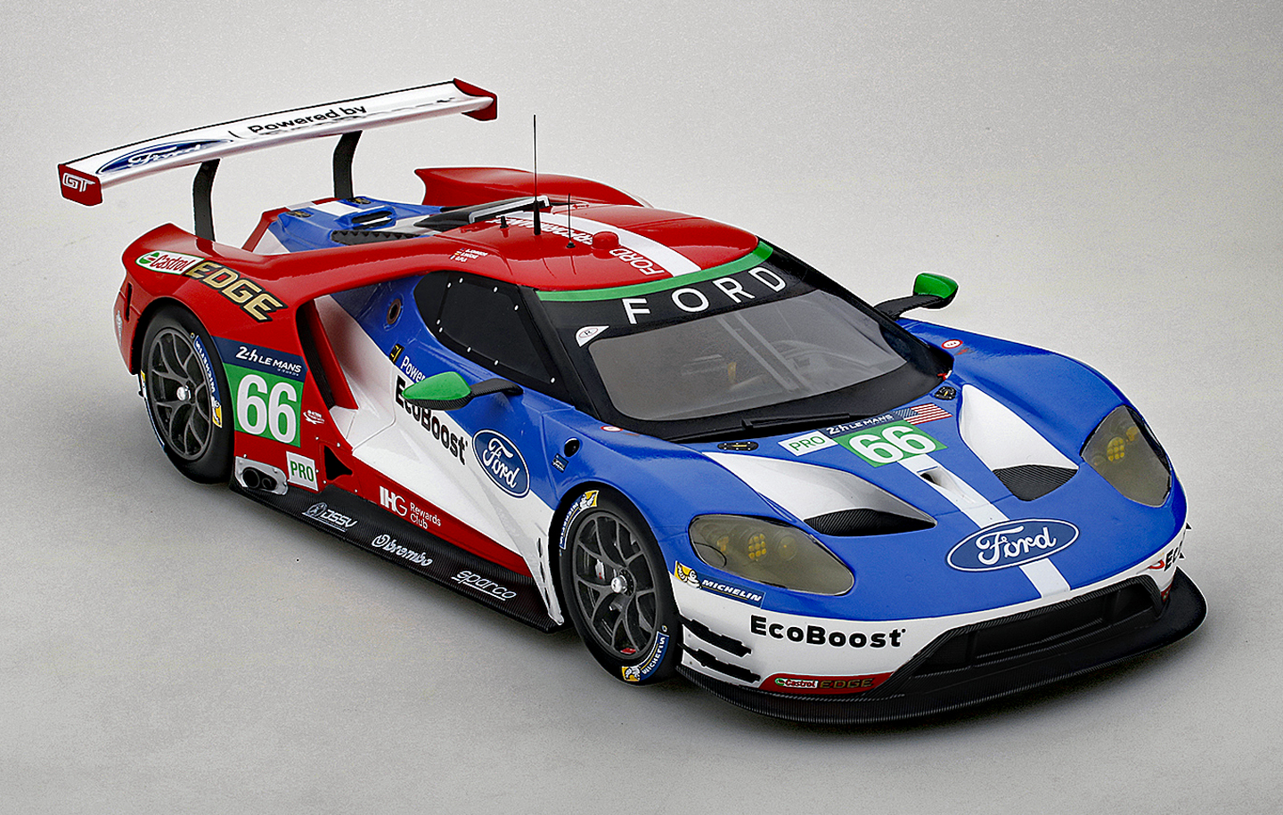 Ford gt 66 4th lmgte pro le mans 2016