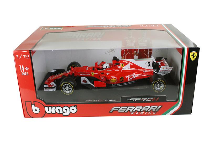 Bburago 1:43 Formula 1 2017 Ferrari SF70H # 5 Sebastian Vettel /& Kimi Raikkonen