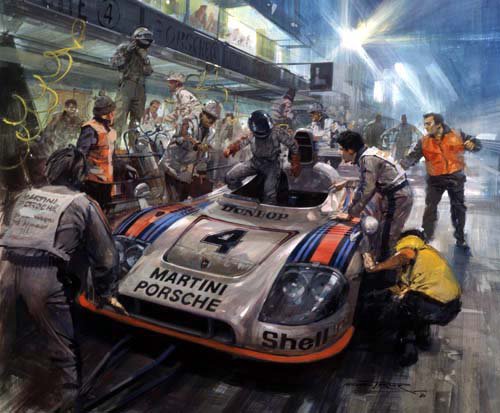 Turner Giclee Prints The Motorsport Collector