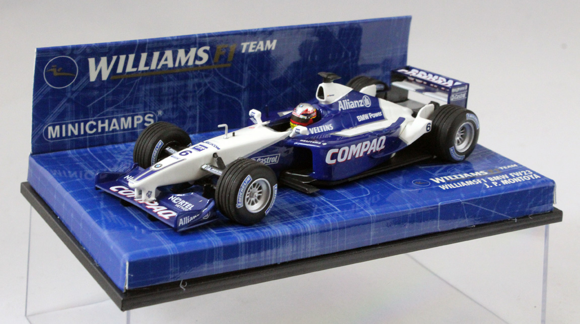 schumacher 2001 1:43 Minichamps williams bmw fw23 r
