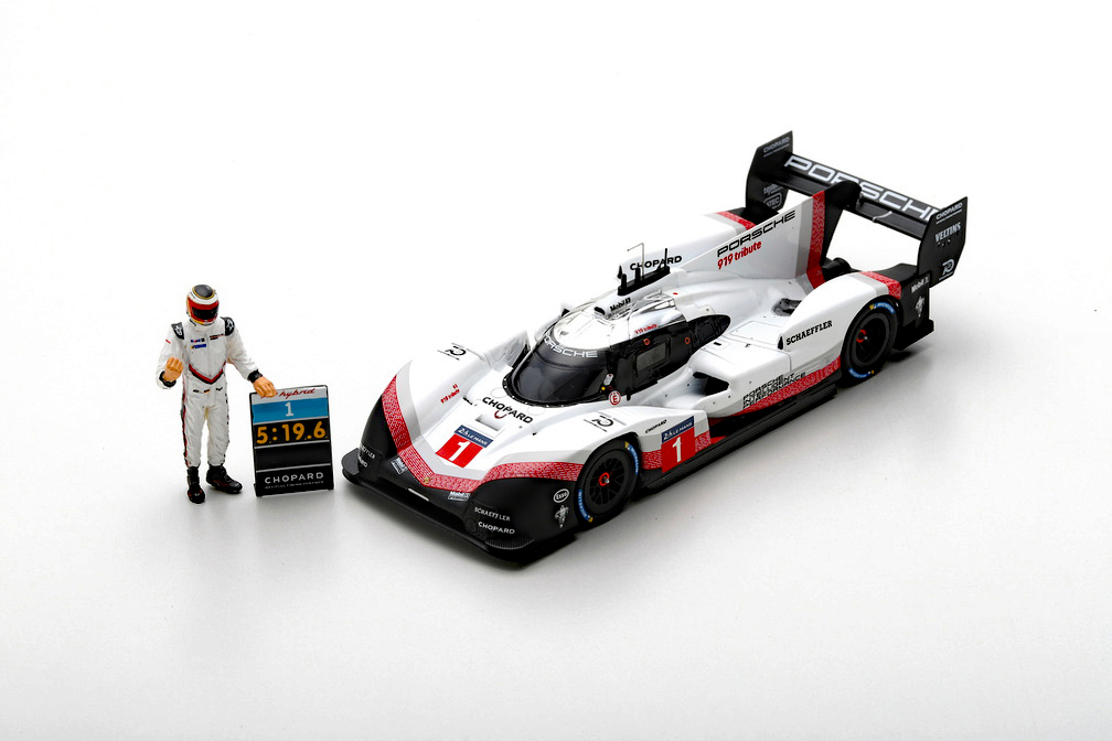 Porsche 919 Hybrid Turbo Team Porsche #17 Le Mans 2015 Bernhard Spark 1:43 S4638