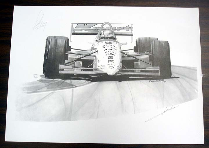 J And J Auto Sales >> MICHAEL SAVAGE PRINTS : The Motorsport Collector