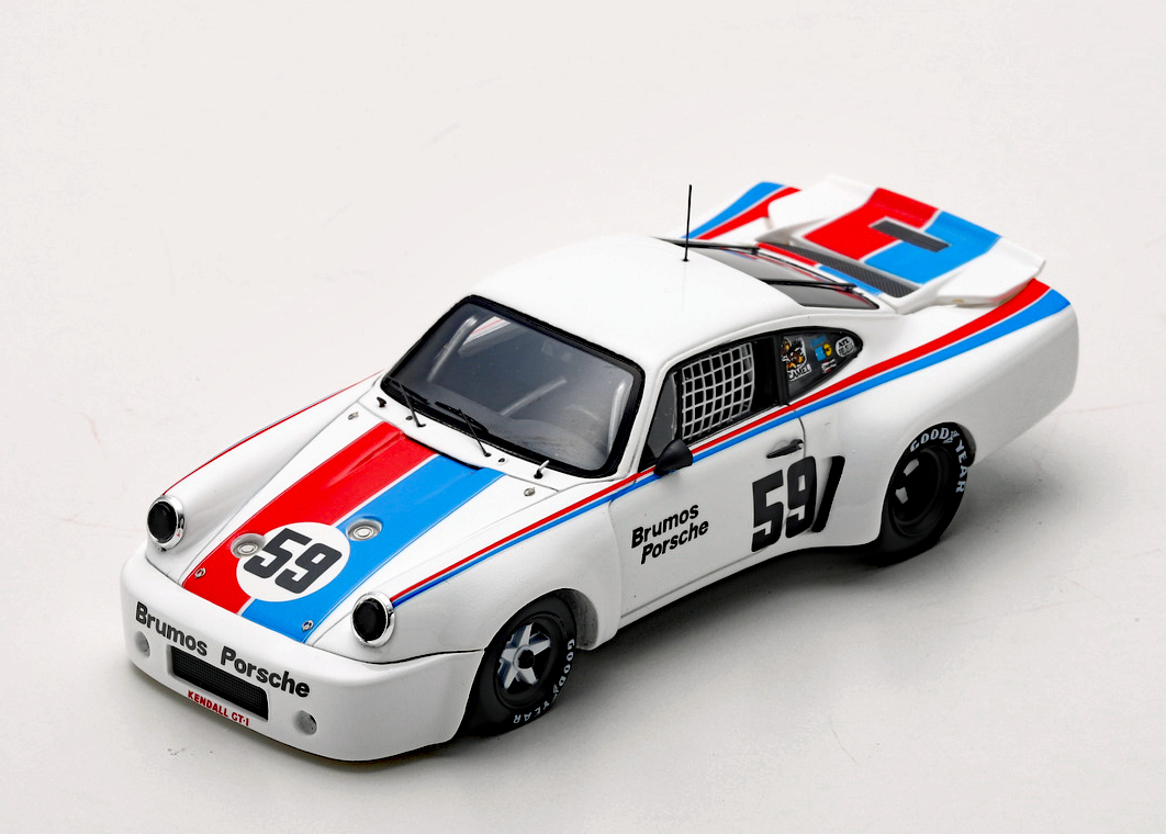 Peter Gregg Porsche 911 RSR No.59 Trans Am Champion 1974