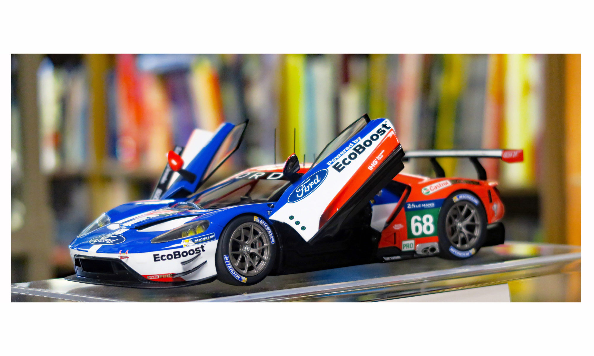 DIE CAST FORD GT  2017  SUPERCARS GT COLLECTION 1:43 #36